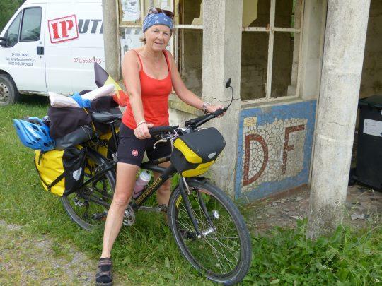 Fietsreis fietsbedevaart fietsblog reisverslag review Santiago de Compostela frontière grens douane