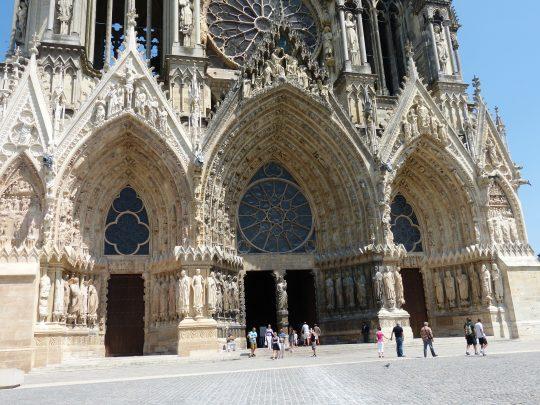 Fietsreis fietsbedevaart fietsblog reisverslag review Santiago de Compostela Reims kathedraal