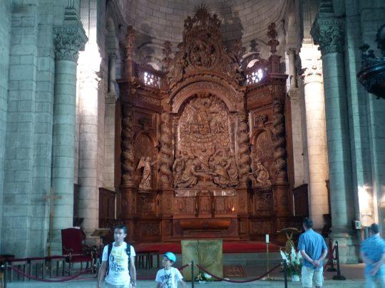 Fietsreis fietsbedevaart fietsblog reisverslag review Santiago de Compostela Périgueux Cathédrale