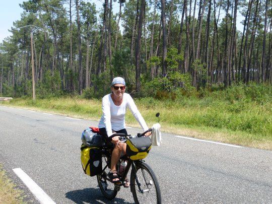 Fietsreis fietsbedevaart fietsblog reisverslag review Santiago de Compostela Landes