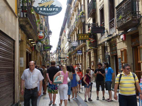 Fietsreis fietsbedevaart fietsblog reisverslag review Santiago de Compostela Camino del Norte San Sebastian