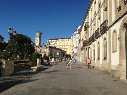 Fietsreis fietsbedevaart fietsblog reisverslag review Santiago de Compostela Camino del Norte Lugo