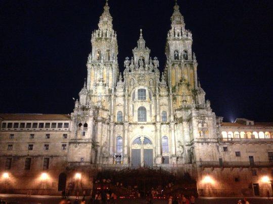 Fietsreis fietsbedevaart fietsblog reisverslag review Santiago de Compostela Camino del Norte Santiago de Compostela