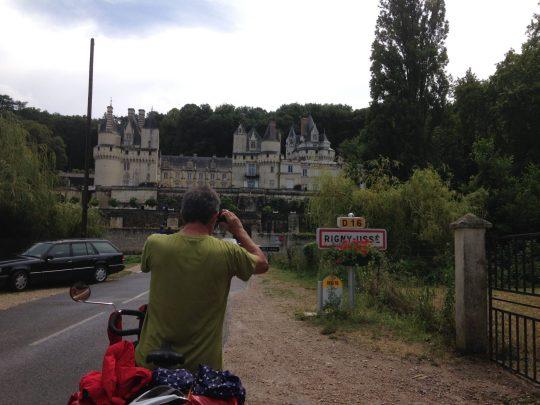 Fietsroute fietsreis fietsblog fietsverslag review fietsvakantie Loireroute Doornroosje Rigny-Ussé