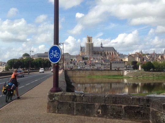 Fietsroute fietsreis fietsblog fietsverslag review fietsvakantie Loireroute Nevers
