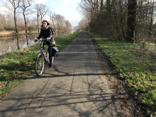 Fietsroute fietsblog review fietslus fietsverslagen Bulskampveld Kanal Gent Brugge Oostende