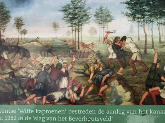 Fietsroute fietsblog review fietslus fietsverslagen Bulskampveld Slag van het Beverhoutsveld