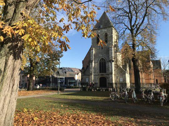 Fietsroute reisverslagen fietsblog review Berlare Sint-Martinuskerk