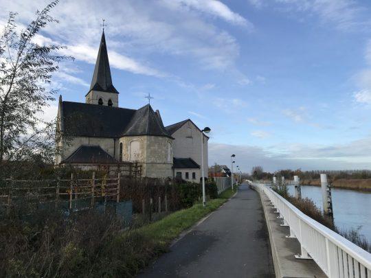 Fietsroute reisverslagen fietsblog review Schellebelle