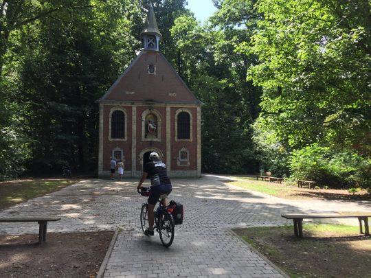 fietsroute review bierroute Buggenhoutbos