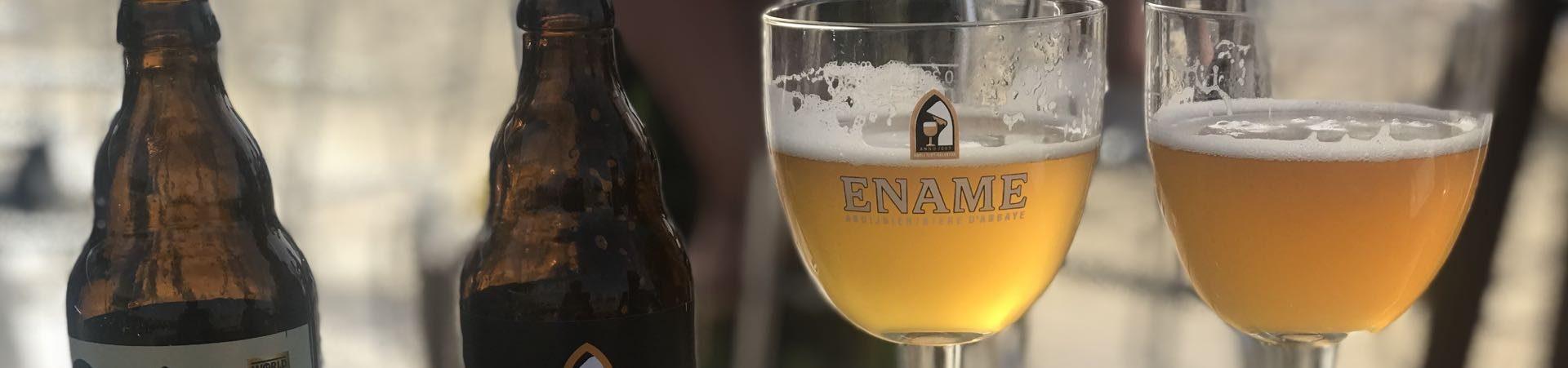 Ename fietsblog fietsroute bier