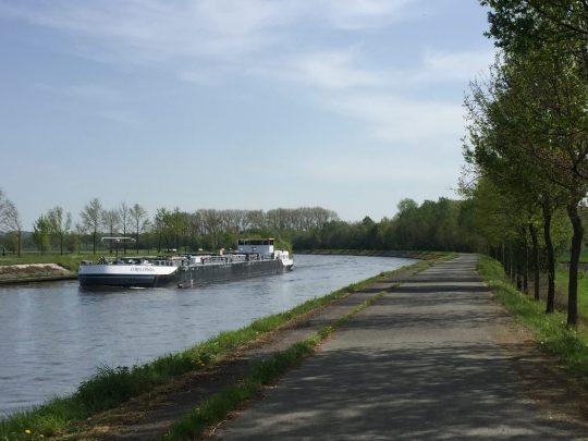 Fietsroute blog Schelde verhalen schepen