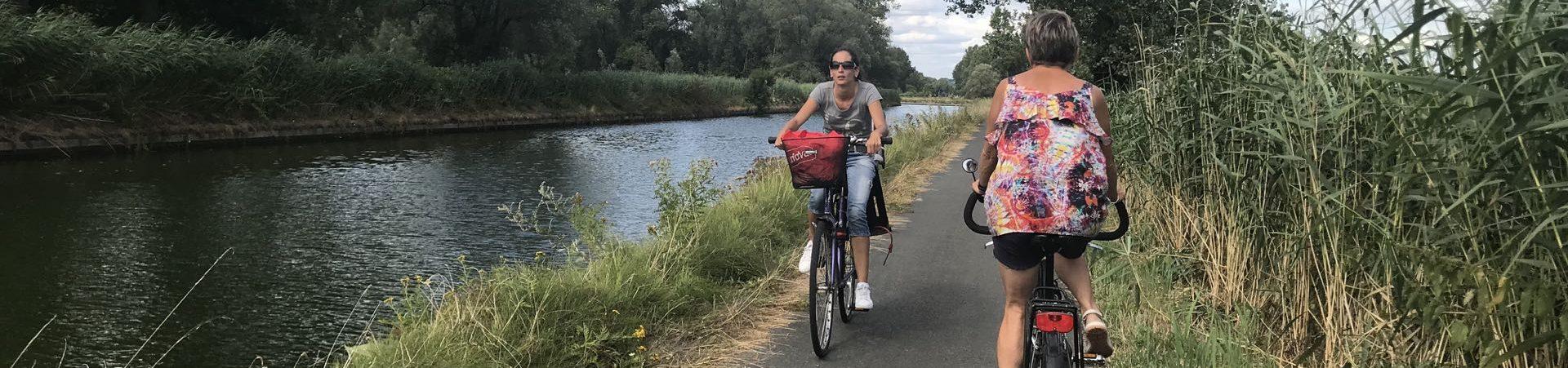 Fietsroute fietsblog Dender Ninove witkap plan bier