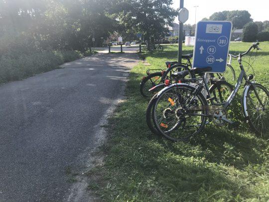 fietsroute fietsblog streek van mijnen en koolputters fietsknooppunt 301 Limburg