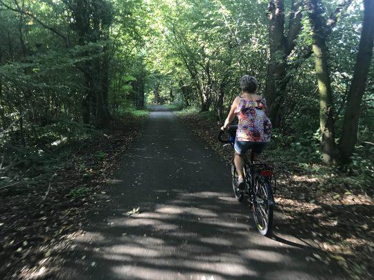 fietsroute fietsblog Limburg bos fietsen review