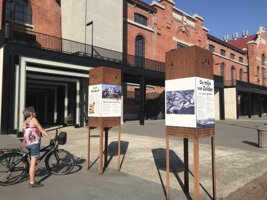 fietsroute fietsblog Limburg Zolder mijnsite Schacht fietsen review