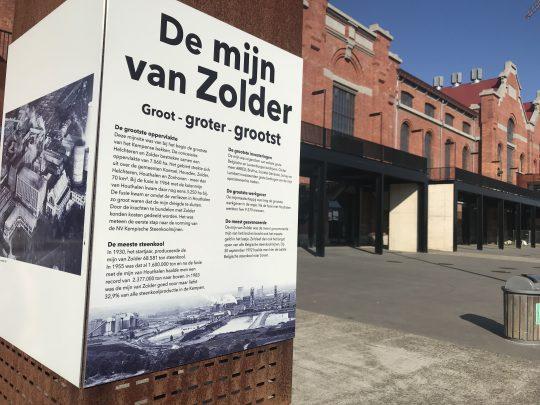 fietsroute fietsblog streek van mijnen en koolputters mijnsite Zolder