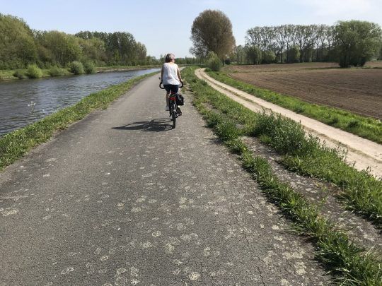 Fietsroute fietsblog jaagpad fietsen