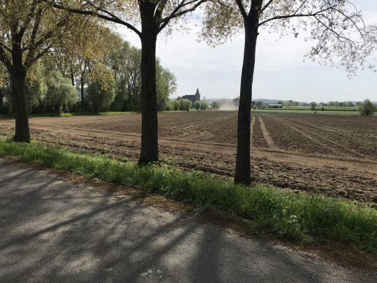 Fietsroute fietsblog Melden Koppenberg vergezicht