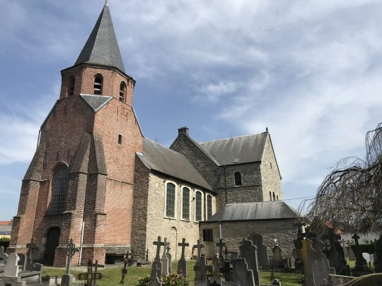 Fietsroute fietsblog fietsen kerk Nederename
