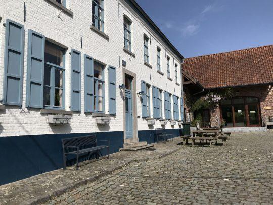 Fietsroute fietsblog Kaaihoeve Provincie Oost-Vlaanderen hoeve