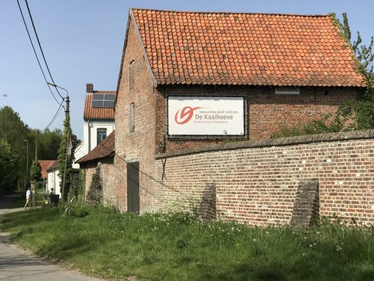 Fietsroute fietsblog Kaaihoeve Provincie Oost-Vlaanderen