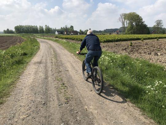 Martinusroute fietsroute fietsblog veldwegel