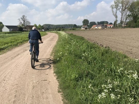 Martinusroute fietsroute fietsblog veld