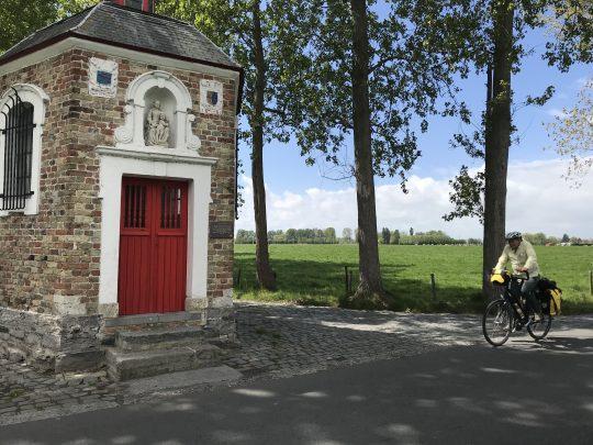 fietsroute fietsblog Lissewege abdij Ter Doest kapel