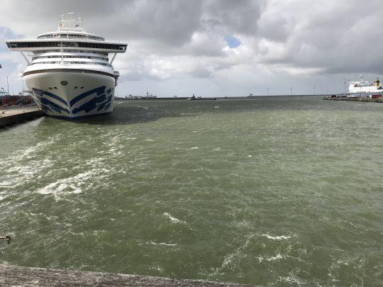 fietsroute fietsblog haven cruiseboot cruise cruises-schip
