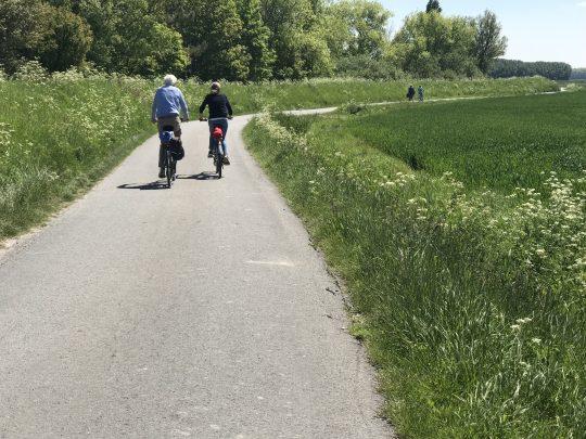 Riante Polderroute fietsroute fietsblog fietspad fietsers