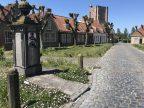 Riante Polderroute fietsroute fietsblog Sint-Anna ter Muiden schilderachtig polderhaven kerktoren