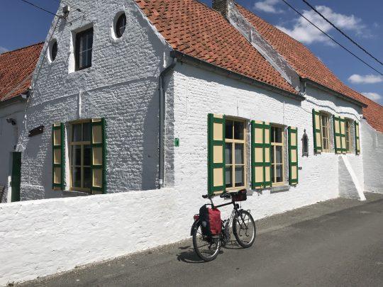 Riante Polderroute fietsroute fietsblog polders Oostkerke erfgoed