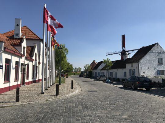 Riante Polderroute fietsroute fietsblog polders Ramskapelle