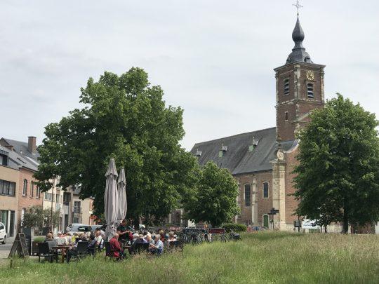 Fietsroute fietsblog Opdorp Scheldedijkroute