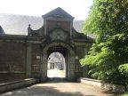 Fietsroute fietsblog Scheldedijkroute kasteel Hof te Melis poort