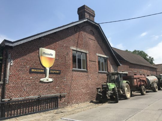 Fietsroute fietsblog brouwerij brasserie Dupont Saison bier