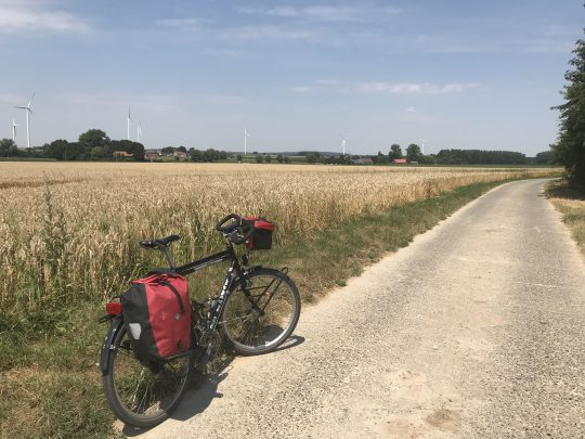 Fietsroute fietsblog graanveld