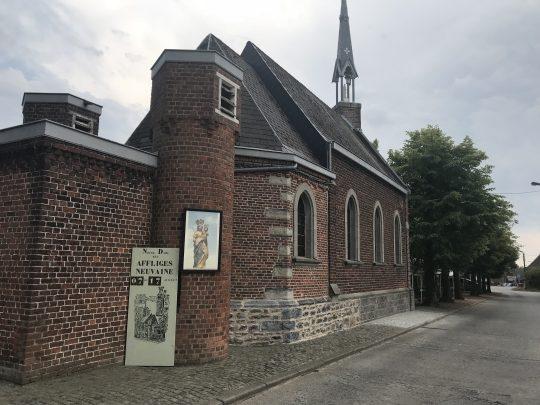 Fietsroute fietsblog Baugnies kapel noveen