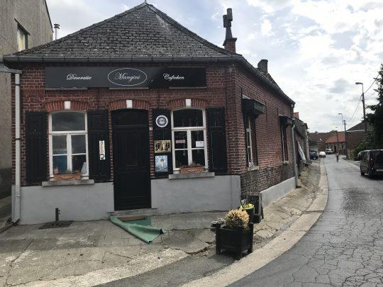 Fietsroute fietsblog Kerksken Mangini café startplaats