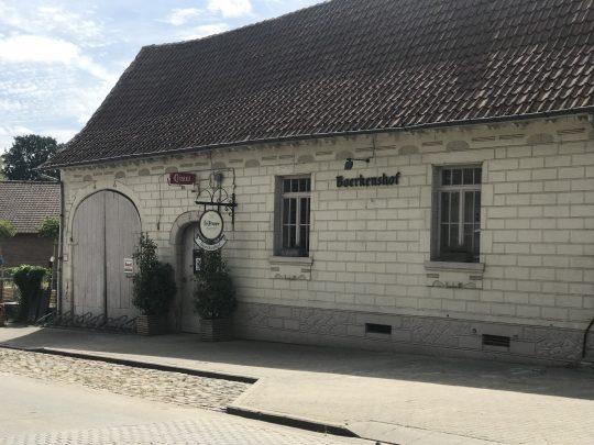 Fietsroute fietsblog Boerkenshof Outer