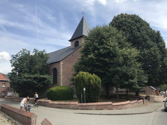 Fietsroute fietsblog kerk Outer