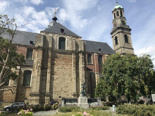 Fietsroute fietsblog Witkap Ninove barok abdijkerk