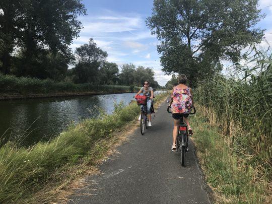 Fietsroute fietsblog Witkap Dender