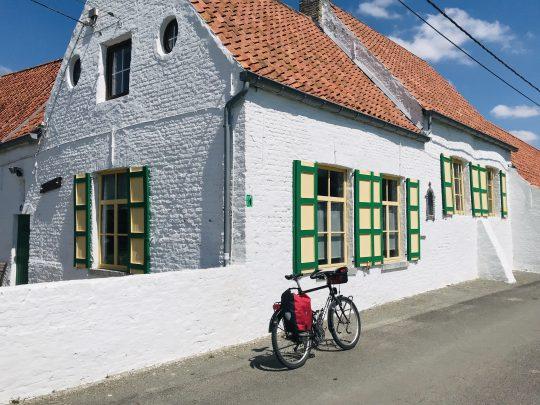 Fietsroute fietsblog Oostkerke Riant Polderroute