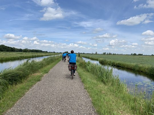 Fietsroute fietsblog review Gouda Krimpenerwaard kaarsrecht