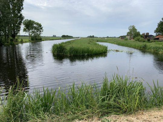 Fietsroute fietsblog review Gouda Krimpenerwaard water