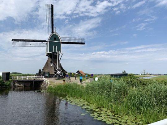 Fietsroute fietsblog review molen Zuid-Holland Holland