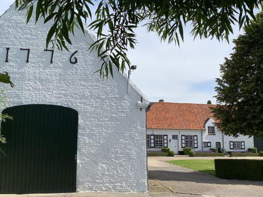 Fietsroute fietsblog review polder oude dijken Vlissegem Spanjaardstraat