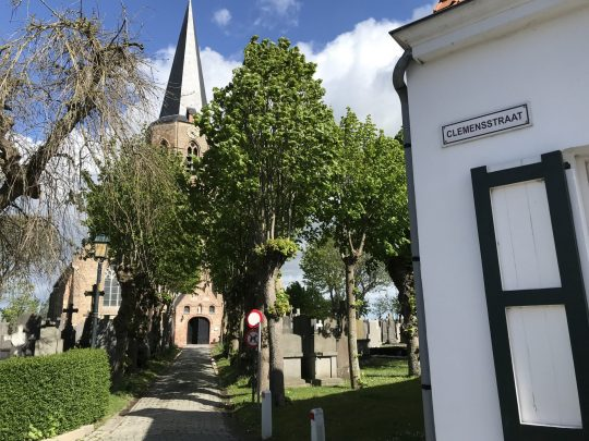 Fietsroute fietsblog review polder oude dijken Klemskerke Clemensstraatje